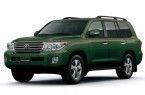 Фото: Toyota Land Cruiser 200 цвет темно-зеленый