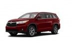 Фото: Toyota Highlander 2014 цвет Moulin Rouge Mica