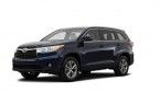 Фото: Toyota Highlander 2014 цвет Nautical Blue Metallic