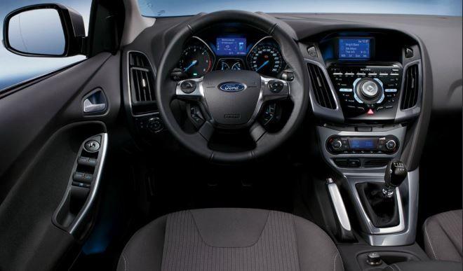 Фото: Водительское место и передняя панель Ford Focus 3