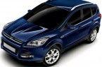 Фото: Ford Kuga цвет Ink Blue