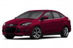 Фото: Ford Focus 3 цвет Candy Red