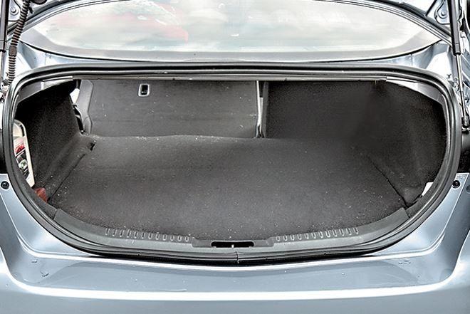 Фото: Багажное отделение Ford Mondeo 4