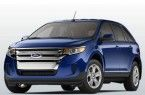 Фото: Ford Edge цвет Deep Impact Blue Metallic