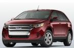 Фото: Ford Edge цвет Ruby Red Metallic