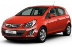 Фото: Opel Corsa цвет Magma Red