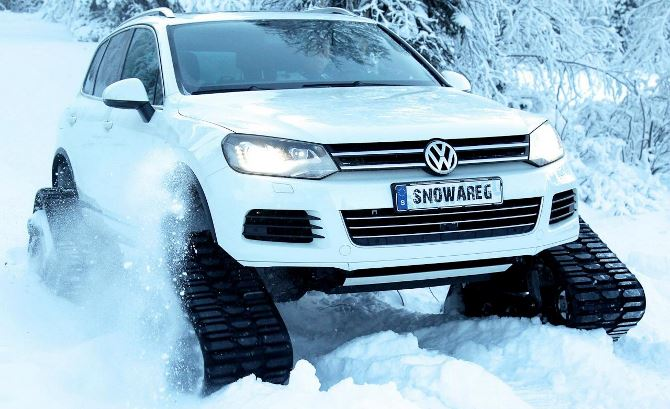 Фото: Авто для зимних дорог