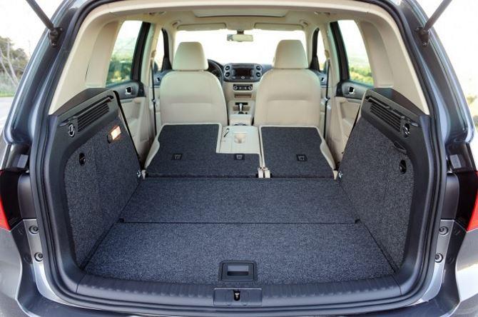 Фото: Вместительный багажник Volkswagen Tiguan