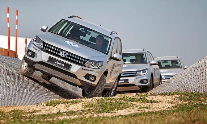 Фото: Возможности Volkswagen Tiguan на бездорожье