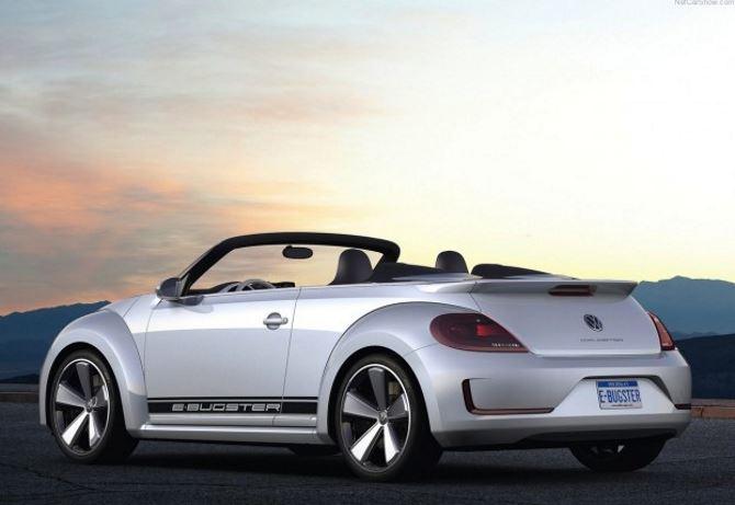 Фото: Новый Volkswagen Beetle кабриолет