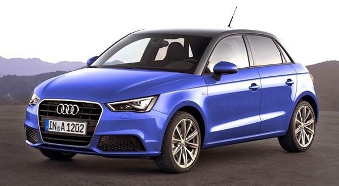 Фото: Новый Audi A1 Sportback - цвет синий