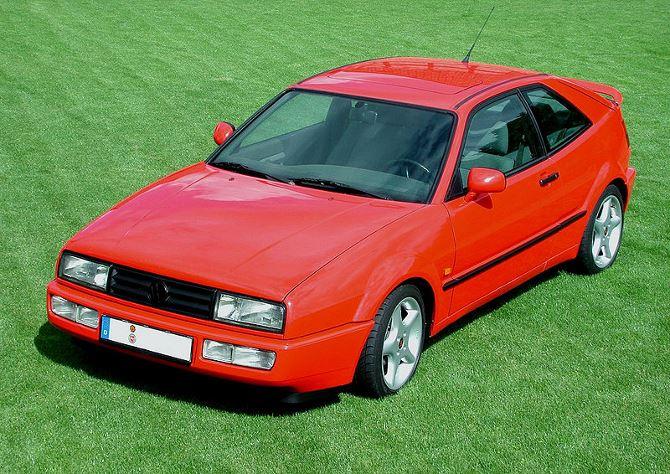 Фото: Таким был Volkswagen Scirocco в 1995 году