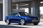Фото: Новая Audi A6 C7 2014 года, синего цвета