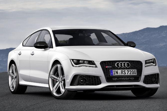 Фото: Audi A7 quattro: отличная машина 2014 года, белый цвет