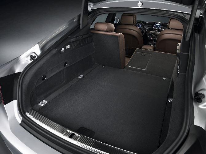 Фото: Вместительный багажник Audi A7