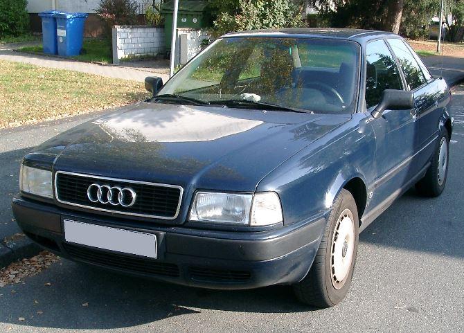 Фото: Audi A80 прородительница Audi A4