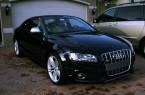 Фото: Ауди А5 купе черного цвета