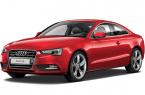 Фото: Ауди А5 купе цвет Brilliant Red неметаллик