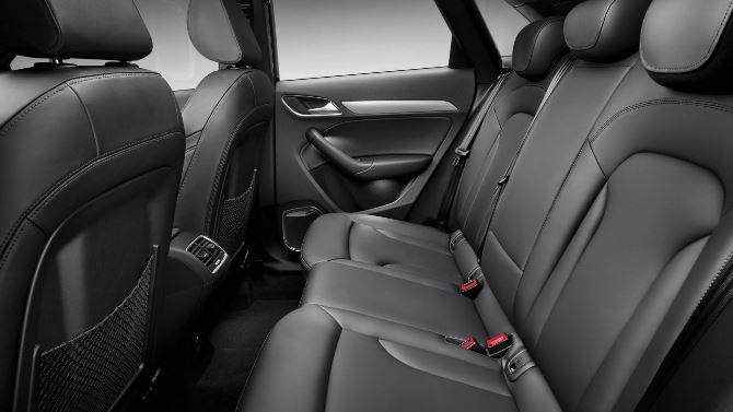 Фото: Комфортный задний ряд сидений кроссовера